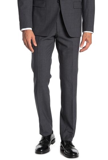 Imbracaminte Barbati John Varvatos Star USA Grey Birdseye Wool Suit Separates Trousers GREY