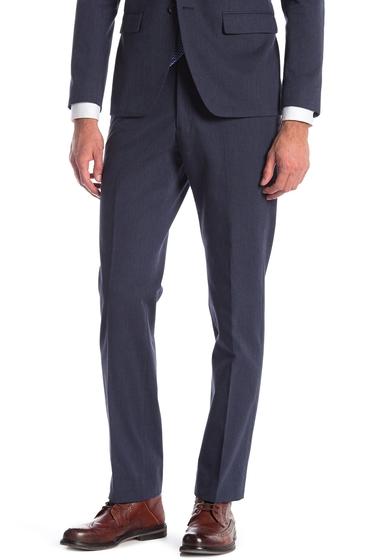Imbracaminte Barbati John Varvatos Star USA Bedford Blue Sharkskin Suit Separate Pants BLUE