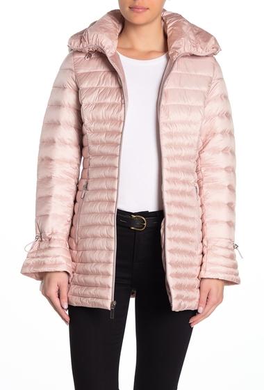 Imbracaminte Femei Laundry by Shelli Segal Lightweight Puffer Jacket DUSTY PINK