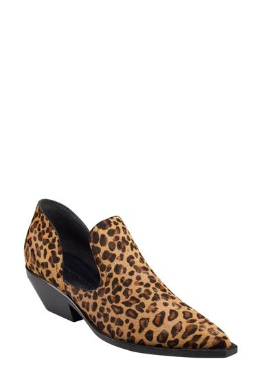 Incaltaminte Femei Sigerson Morrison Tabatha Leopard Print Genuine Calf Hair Bootie LEOPARD