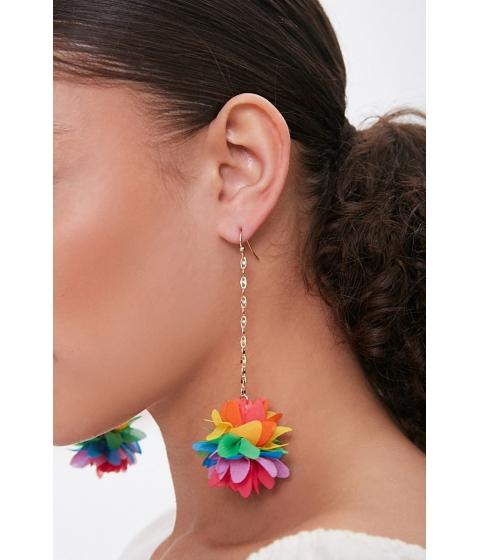 Bijuterii Femei Forever21 Floral Drop Earrings GOLDMULTI
