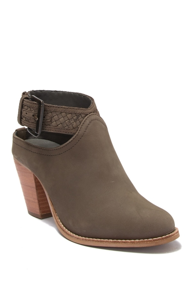 Incaltaminte Femei Crevo Eva Leather Ankle Boot MINK GRAY