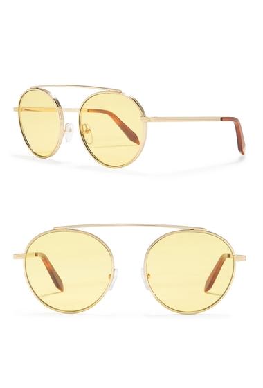Ochelari Femei Victoria Beckham 54mm Round Sunglasses YELLOW MONO
