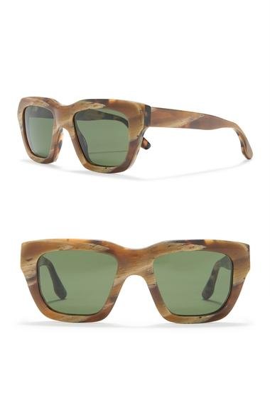 Ochelari Femei Victoria Beckham 51mm Square Sunglasses LYRD CAMELHORNTRT