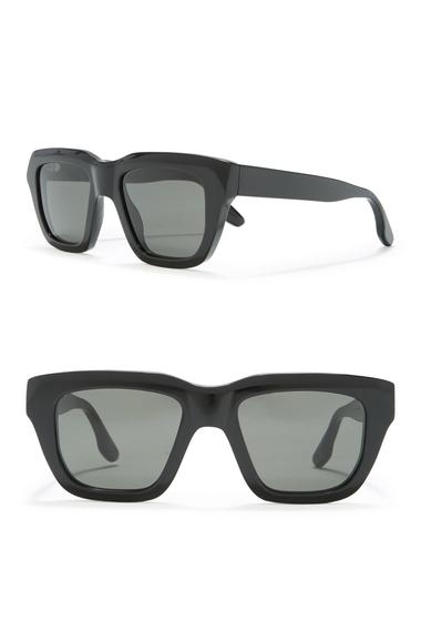 Ochelari Femei Victoria Beckham 51mm Square Sunglasses BLACK
