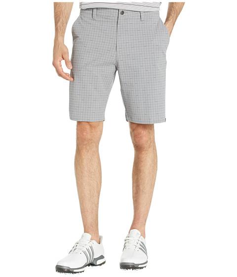 Imbracaminte Barbati adidas Golf Ultimate Plaid Print Shorts Grey Three
