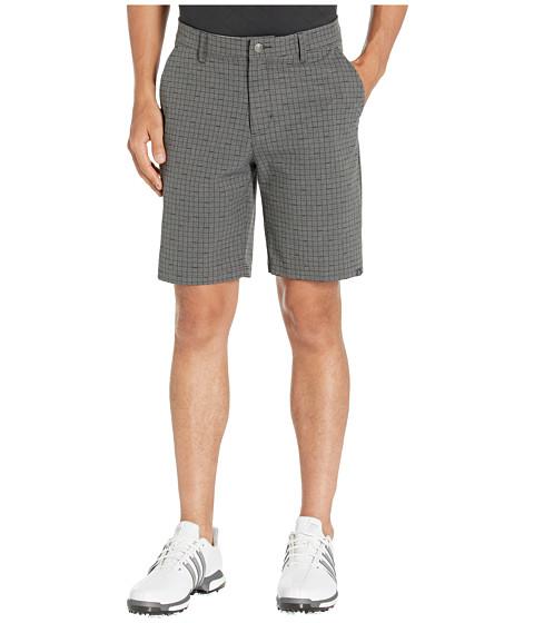 Imbracaminte Barbati adidas Golf Ultimate Plaid Print Shorts Legend Earth