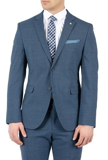 Imbracaminte Barbati Original Penguin Blue Checkered Two Button Notch Lapel Slim Fit Suit Separates Jacket MEDIUM BLUE CHECK