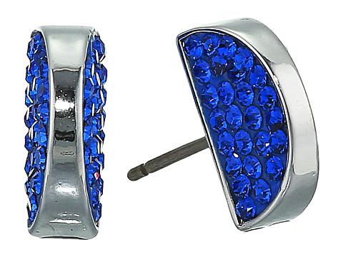 Bijuterii Femei Kate Spade New York Sliced Scallops Pave Studs Earrings Light Sapphire