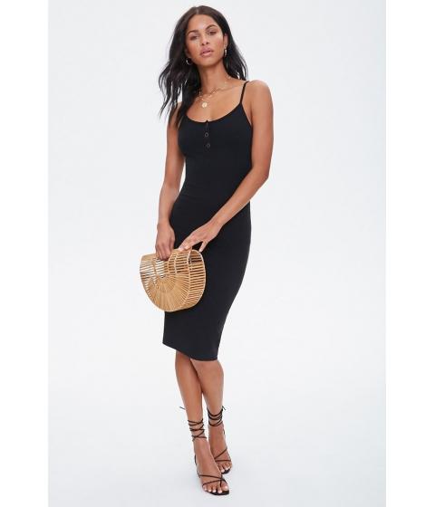 Imbracaminte Femei Forever21 Ribbed Cami Bodycon Dress BLACK