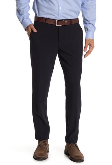 Imbracaminte Barbati English Laundry Solid Flat Front Pants - 30-32 Inseam NAVY