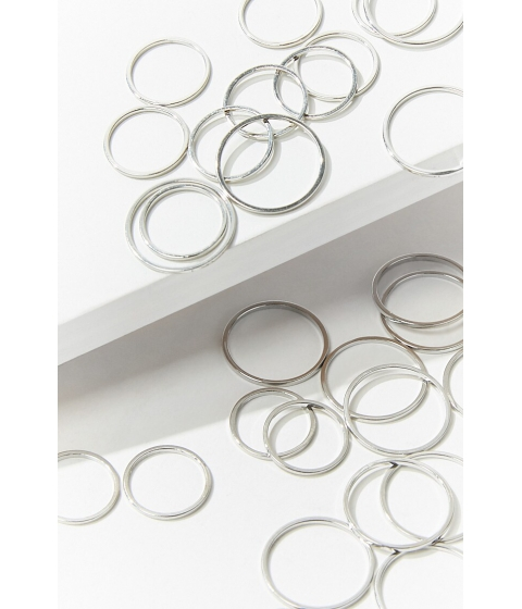 Bijuterii Femei Forever21 Stackable Ring Set SILVER