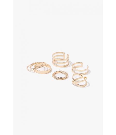 Bijuterii Femei Forever21 Assorted Ring Set GOLD