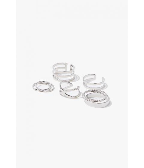 Bijuterii Femei Forever21 Assorted Ring Set SILVER