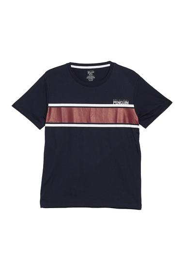 Imbracaminte Barbati Original Penguin Short Sleeve T-Shirt SKYCRIORDWHT