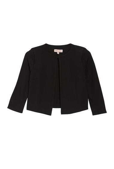 Imbracaminte Femei Philosophy Apparel Hook-and-Eye Shrunken Jacket BLACK