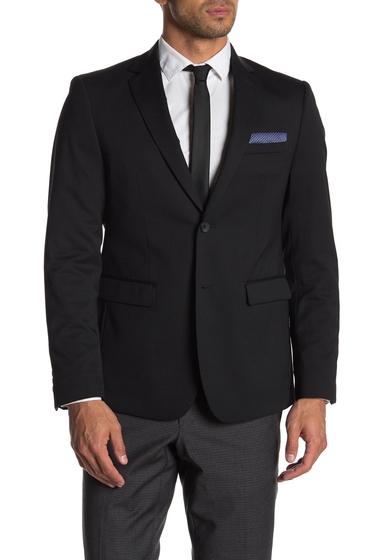 Imbracaminte Barbati Original Penguin Suit Separate Jacket BLACK SOLID