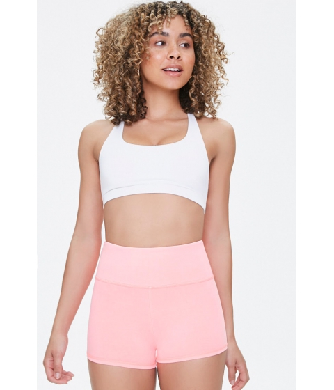 Imbracaminte Femei Forever21 Active 3-Inch High-Rise Biker Shorts NEON PINK