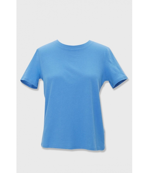 Imbracaminte Femei Forever21 Basic Crew Neck Tee BLUE