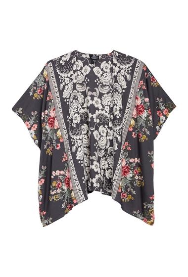 Imbracaminte Femei Angie Floral Printed Kimono BLACK