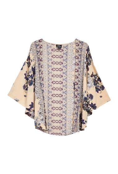 Imbracaminte Femei Angie Floral Printed Kimono CREAM