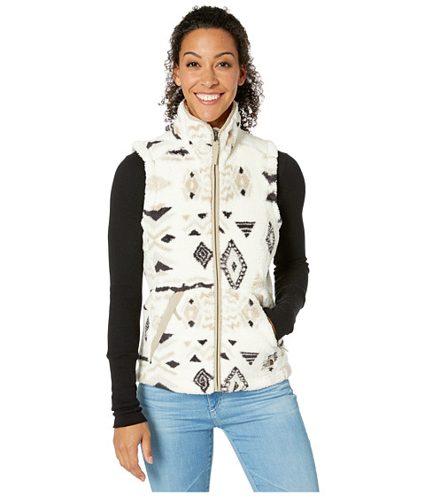 Imbracaminte Femei The North Face Campshire Vest 20 Vintage White California Geo Print