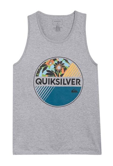 Imbracaminte Barbati Quiksilver Wheel of Fortune Graphic Logo Tank ATHLETIC HEATHER