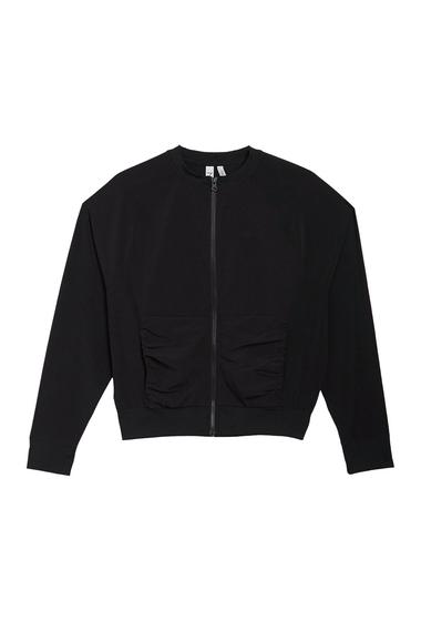 Imbracaminte Femei Z By Zella Ignite Zip Front Tech Jacket BLACK