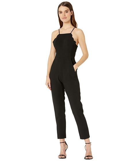 Imbracaminte Femei BCBGeneration Scalloped Jumpsuit - GEF9194251 Black
