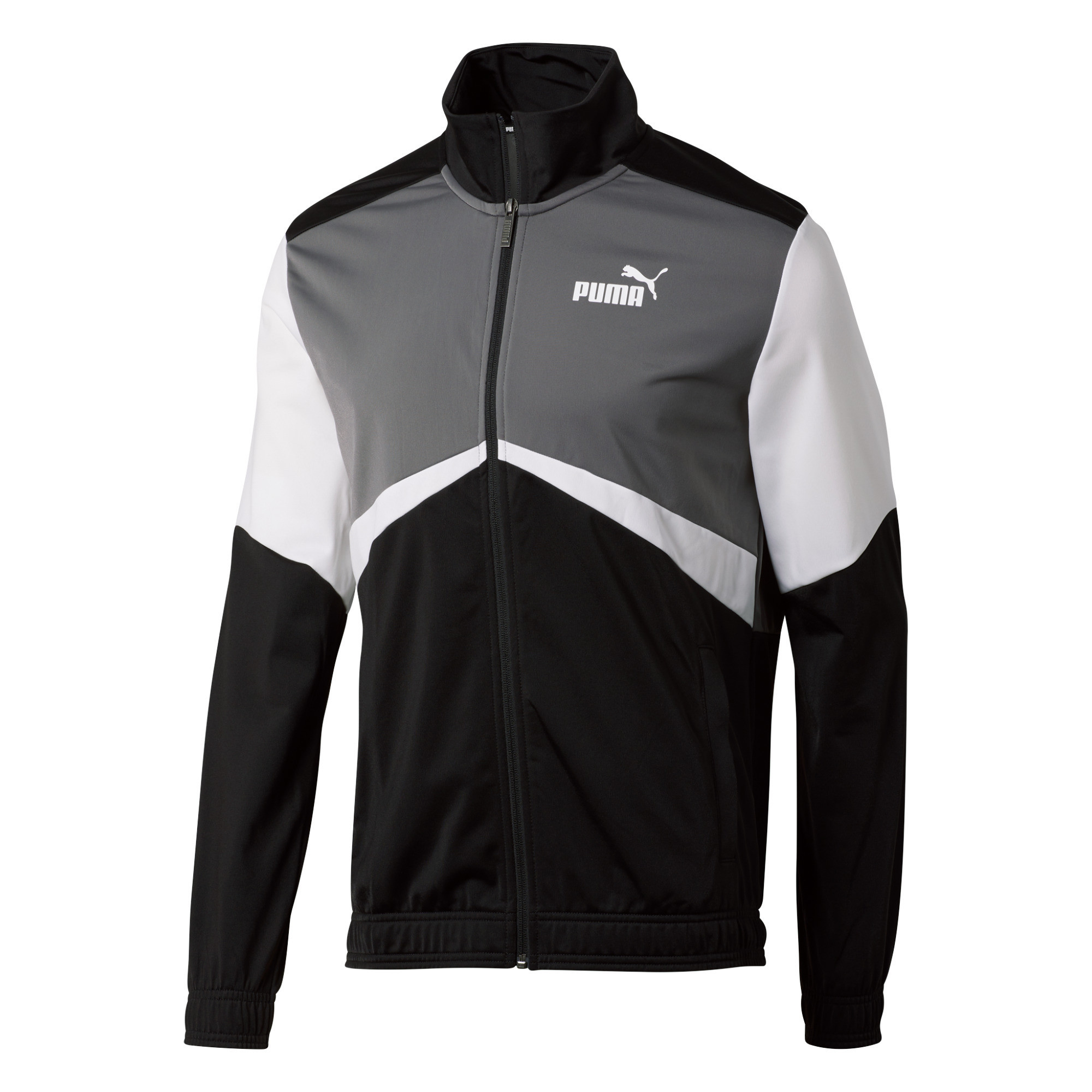 Imbracaminte Barbati PUMA CB Retro Track Jacket Puma BlackCastlerockPuma WhitePuma White