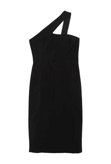 Imbracaminte Femei Maggy London One Shoulder Strap Sheath Dress BLACK