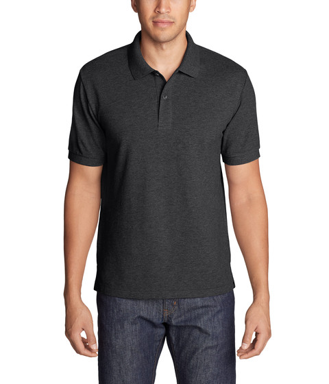 Imbracaminte Barbati Eddie Bauer Classic Field Pro Polo Charcoal Heather 1