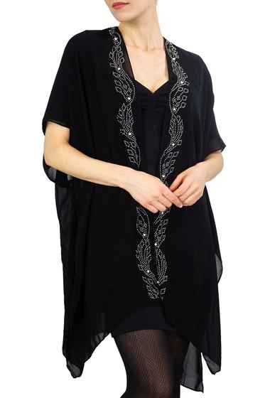 Imbracaminte Femei Just Jamie Solid Wavy Kimono BLACKSILVER