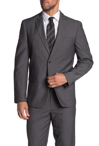 Imbracaminte Barbati Ben Sherman Dark Grey Solid Two Button Notch Lapel Suit Separates Coat DARK GREY