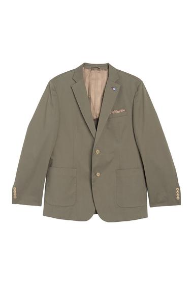 Imbracaminte Barbati Ben Sherman Olive Solid Two Button Notch Lapel Union Fit Sport Coat MID OLIVE