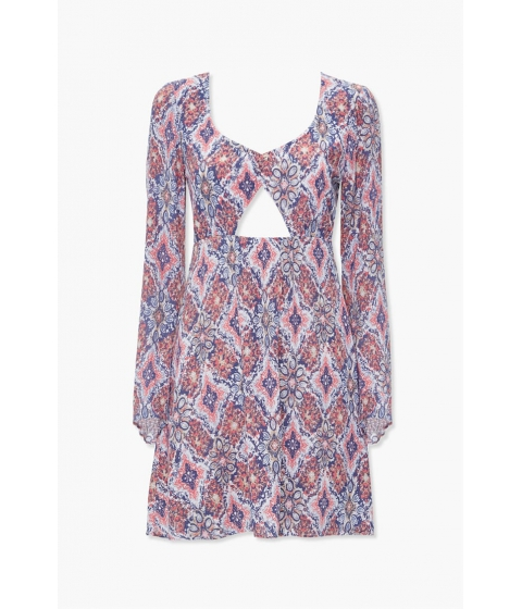 Imbracaminte Femei Forever21 Geo Print Mini Dress RUSTMULTI