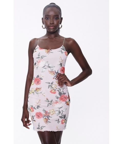 Imbracaminte Femei Forever21 Floral Print Mini Dress TAUPEMULTI