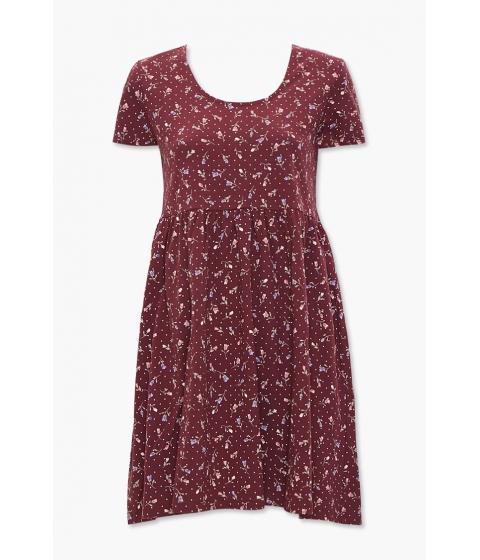 Imbracaminte Femei Forever21 Floral Print Mini Dress WINEMULTI
