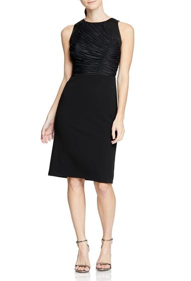 Imbracaminte Femei Halston Heritage Ruched Detail Cocktail Dress BLACK
