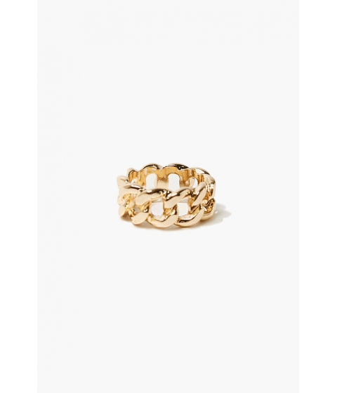 Bijuterii Femei Forever21 Curb Chain Ring GOLD