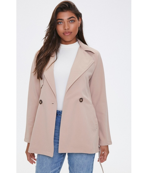 Imbracaminte Femei Forever21 Notched Trench Coat TAUPE