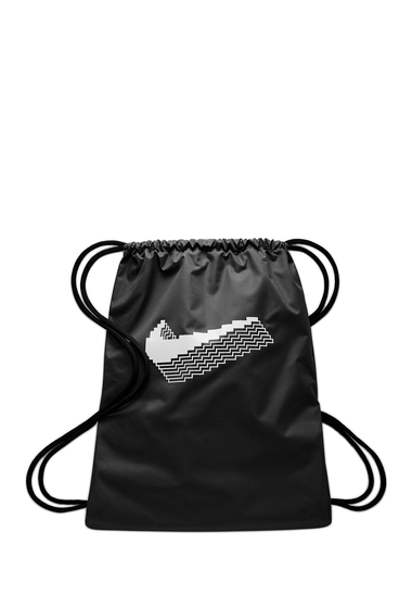 Accesorii Barbati Nike Logo Gym Sack BLACKBLACKWHITE