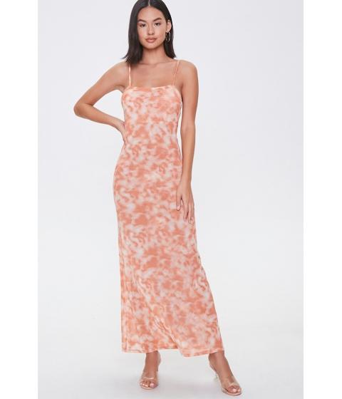 Imbracaminte Femei Forever21 Cloud Wash Maxi Dress ORANGEMULTI