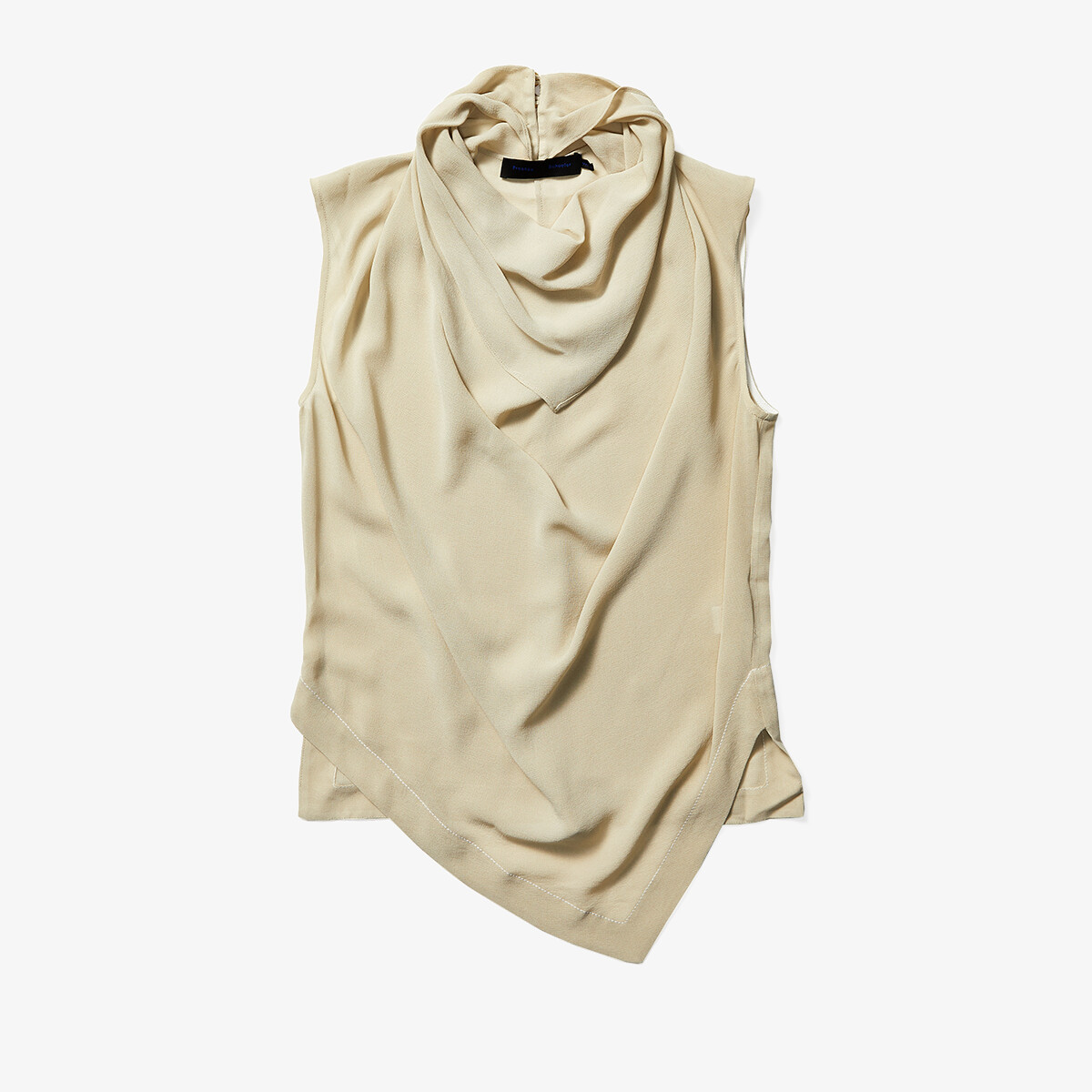 Imbracaminte Femei Proenza Schouler Silk Georgette Sleeveless Cowl Top Taupe