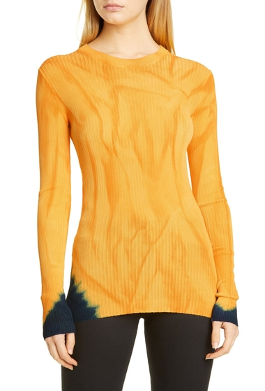Imbracaminte Femei Proenza Schouler Tie Dye Sweater ORANGEBLUE