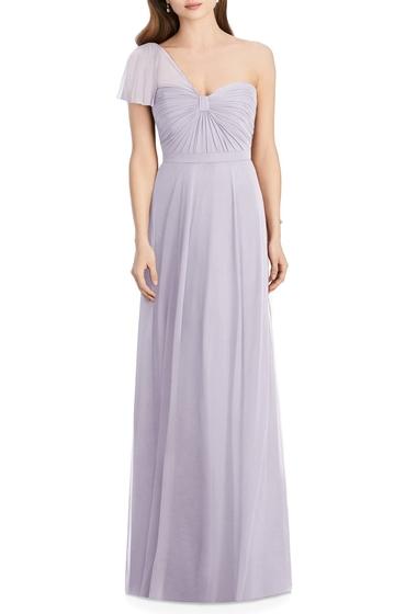 Imbracaminte Femei Jenny Packham One-Shoulder Chiffon A-Line Gown MOONDANCE