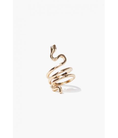 Bijuterii Femei Forever21 Snake Cocktail Ring GOLD