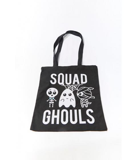 Genti Femei Forever21 Squad Ghouls Tote Bag BLACKMULTI
