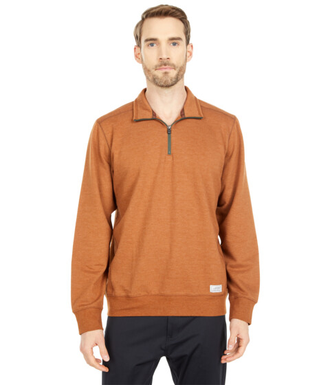 Imbracaminte Barbati Eddie Bauer Camp Fleece 14 Zip Chesnut Heather