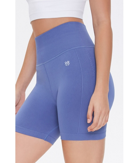 Imbracaminte Femei Forever21 Active Biker Shorts DUSTY BLUE
